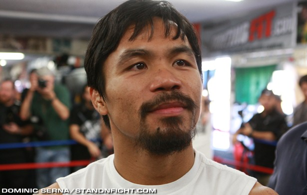 Manny Pacquiao -Photo By: Dominic Serna/Standnfight.com