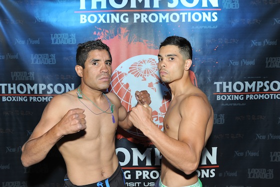 Photo credit:  Carlos Baeza/Thompson Boxing Promotions