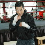 Centeno as he prepares for Bruce at KO Boxing &amp; Fitness in Oxnard CA.. All Photos by Ricardo Conde
