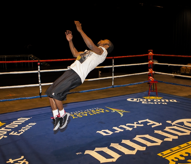 Gary Russell And The 2012 Olympians Workout Gallery