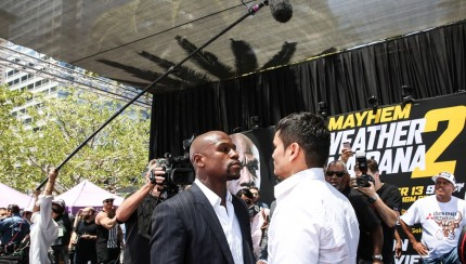 Los Angeles - MayweatherMaidana-8980