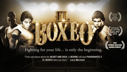 El Boxeo POSTER-FRAME