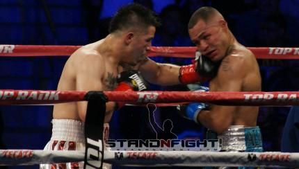 Rios vs Alvarado 1. Photo by Art Gallegos Jr. / Standnfight.com